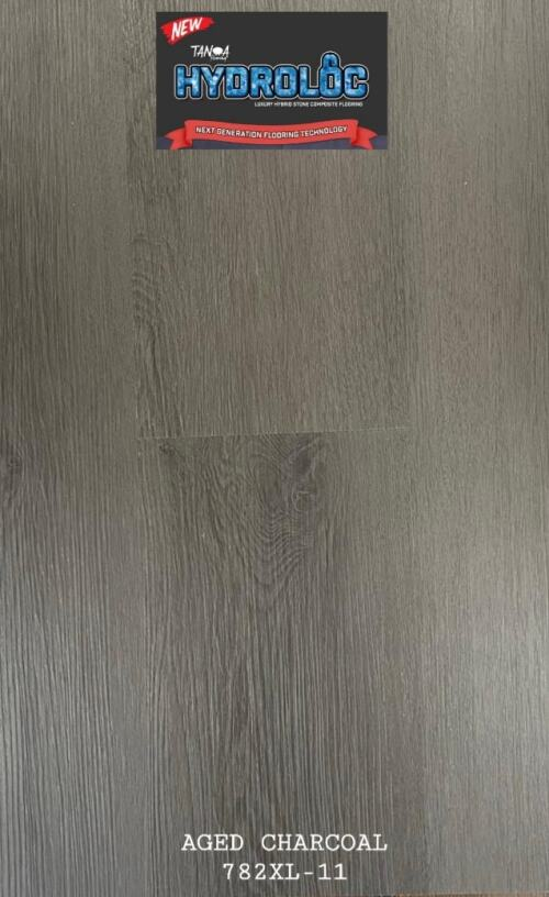Aged Charcoal 782XL-11 - Hydroloc 10mm Luxury Hybrid SPC | Advanced Flooring Services