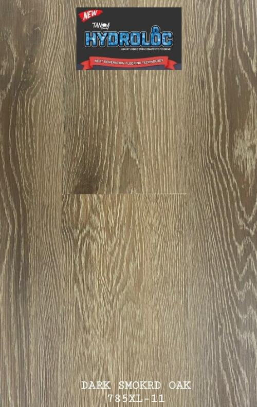 Dark Smoked Oak 785XL-11 - Hydroloc 10mm Luxury Hybrid SPC | Advanced Flooring Services