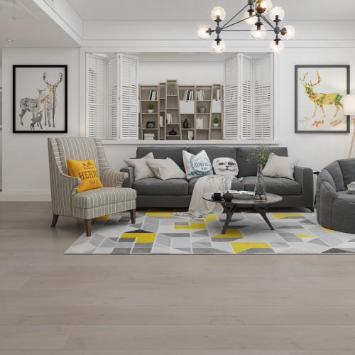 Corona White - Prime Platinum Edition with Dyna Core 12mm AC5 Laminate Longboards | Advanced Flooring Services