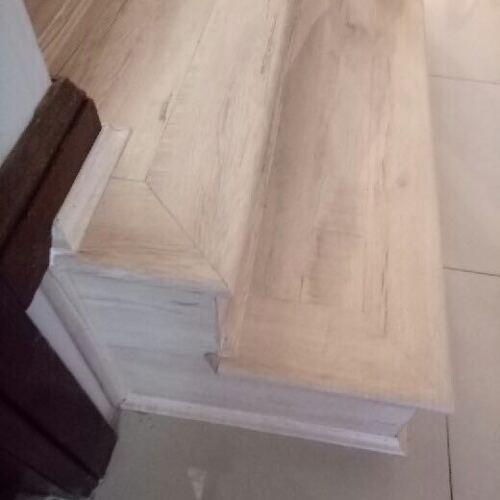 Vanilla Oak 13878-15 Staircase - Tanoa Flooring 12mm Longboard Laminate | Advanced Flooring Services