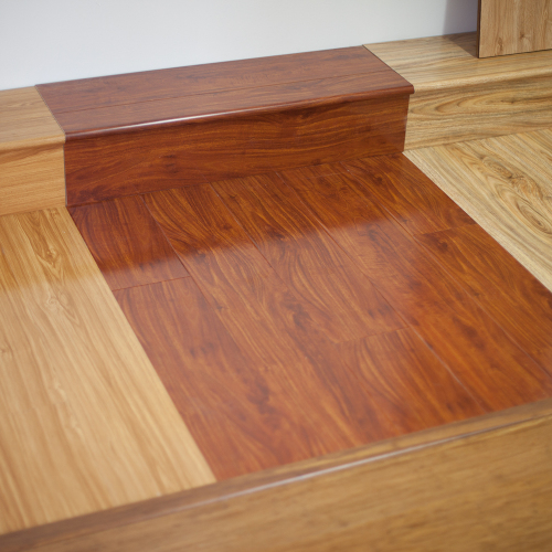 Red Mahogany YA771 Bullnose - Tanoa Flooring 12mm Gloss Laminate | Advanced Flooring Services