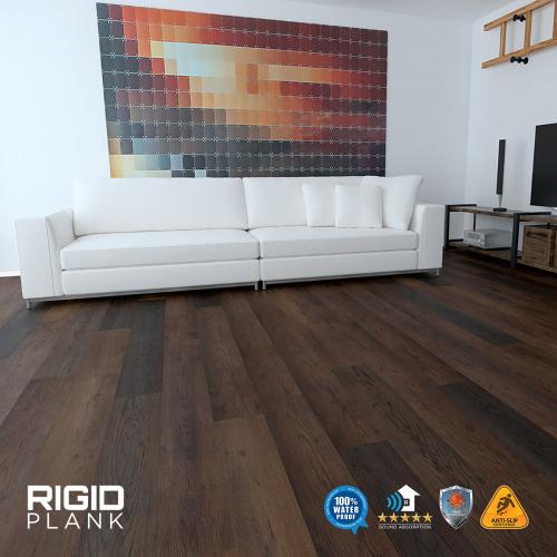 Rigid Plank Hybrid Flooring (SPC)