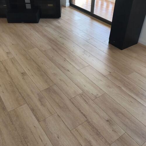 Vanilla Oak 13878-15 - Tanoa Flooring 12mm Longboard Laminate | Advanced Flooring Services