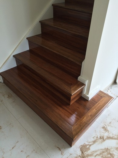 Image of Stonewood Bamboo Flooring Staircase