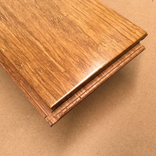 Integrated Drop Lock Joint System of the Carbonised / Coffee 14mm Strand Woven Bamboo Floorboards | Advanced Flooring Services