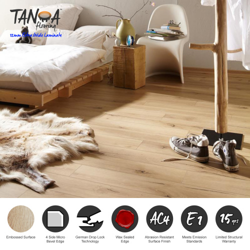 Tanoa Flooring - 12mm Extra Wide Laminate