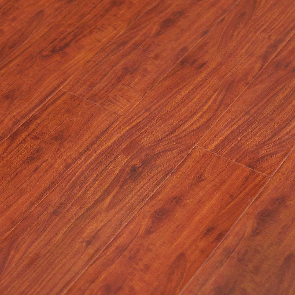 Red Mahogany Ya771 Tanoa Flooring 12mm Gloss Laminate Advanced Services