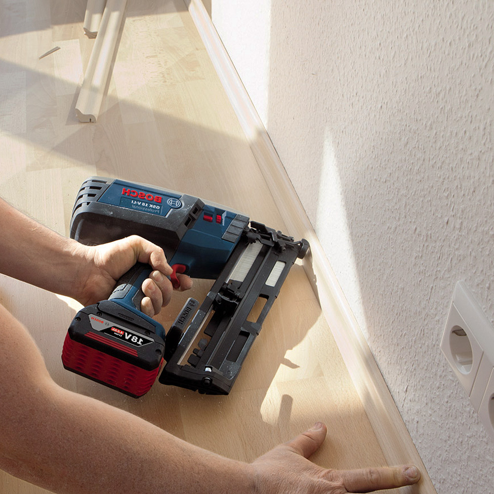 Installing Laminate Scotia and Beading with a Brad Nailer