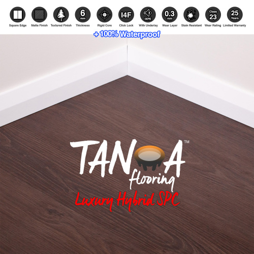 TANOA Flooring - 6mm Luxury Hybrid SPC